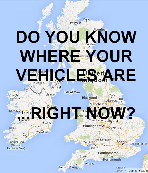 vehicle tracking map
