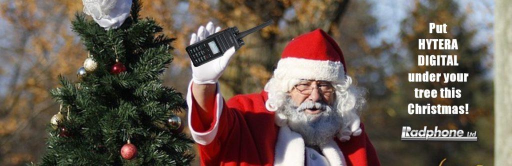 Santa Uses Digital hytera