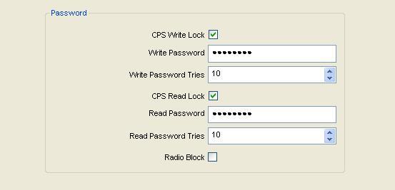 Hytera Password Protection